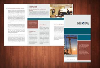 6 panel tri-fold brochure design