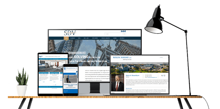 creating the most professionally designed law firm websites and